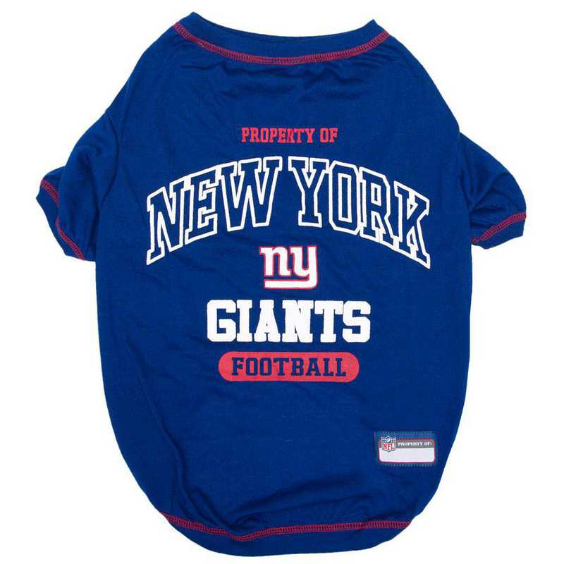 NEW YORK GIANTS Pet T-Shirt
