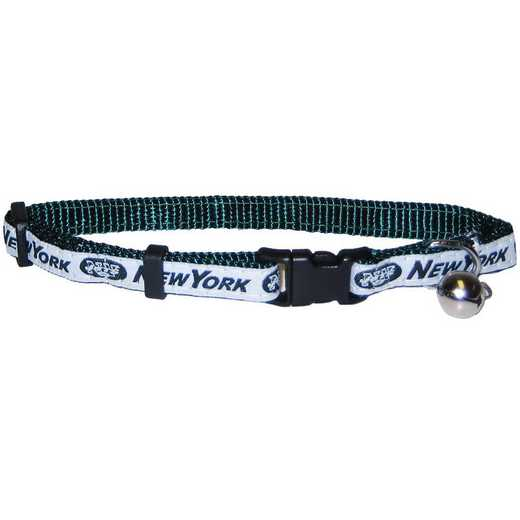 NYJ-5010: NEW YORK JETS CAT COLLAR