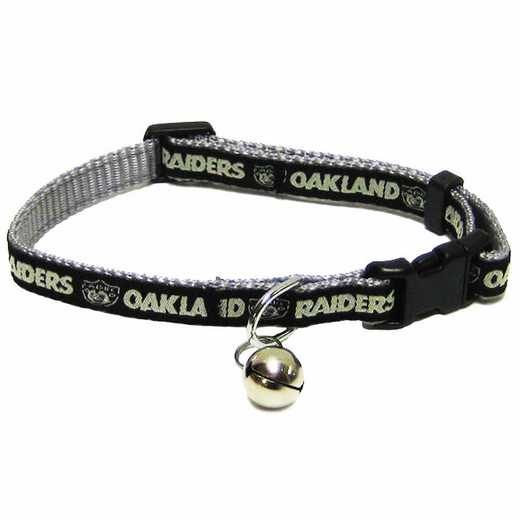OAK-5010: OAKLAND RAIDERS CAT COLLAR