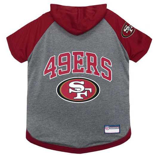 SAN FRANCISCO 49ERS Pet Hoodie T-Shirt