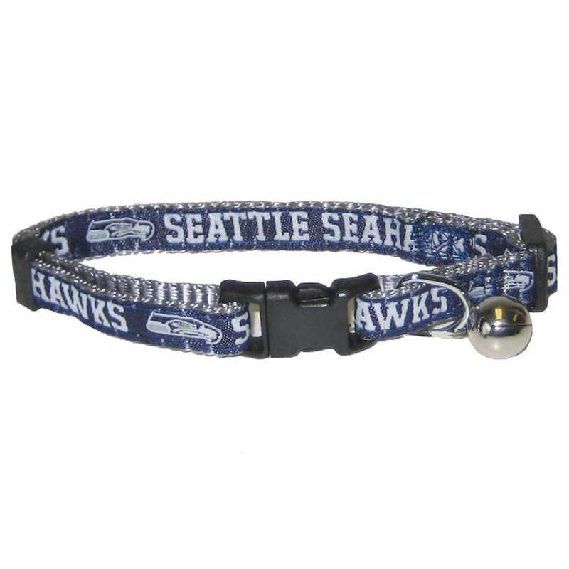 SEA-5010: SEATTLE SEAHAWKS CAT COLLAR