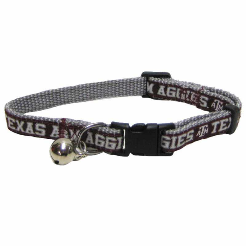 TAM-5010: TEXAS A & M CAT COLLAR
