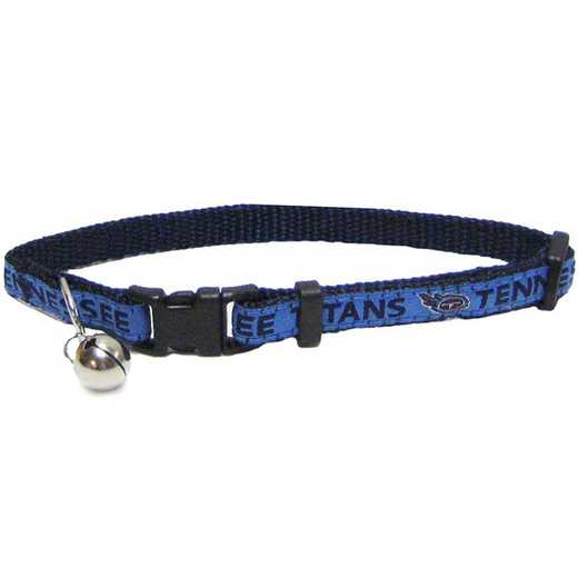TEN-5010: TENNESSEE TITANS CAT COLLAR