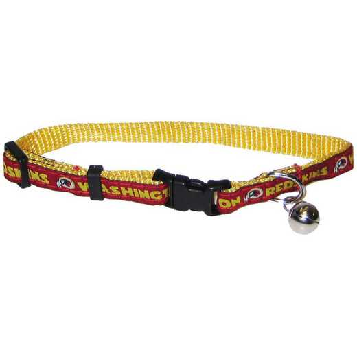 WAS-5010: WASHINGTON REDSKINS CAT COLLAR