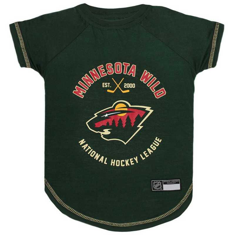 MINNESOTA WILD  Pet T-Shirt