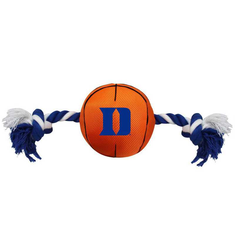 DU-3105: DUKE UNIVERSITY NYLON BASKETBALL ROPE TOY