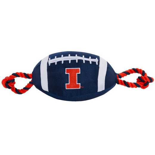 IL-3121: ILLINOIS NYLON FOOTBALL