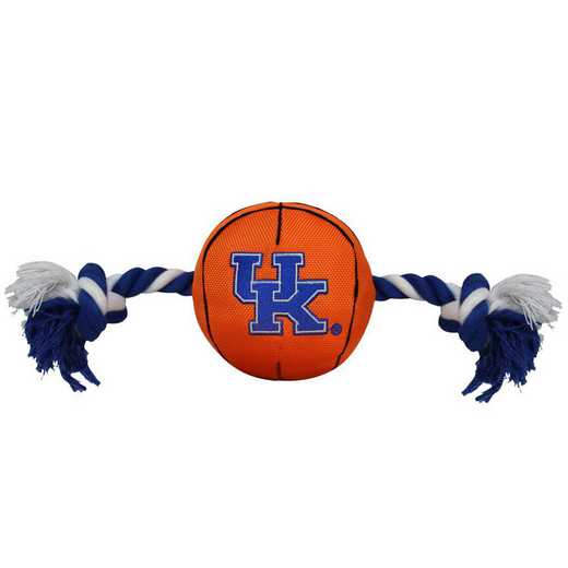 KY-3105: KENTUCKY NYLON BASKETBALL ROPE TOY