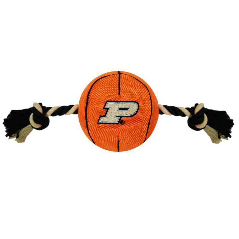 PUR-3105: PURDUE NYLON BASKETBALL ROPE TOY