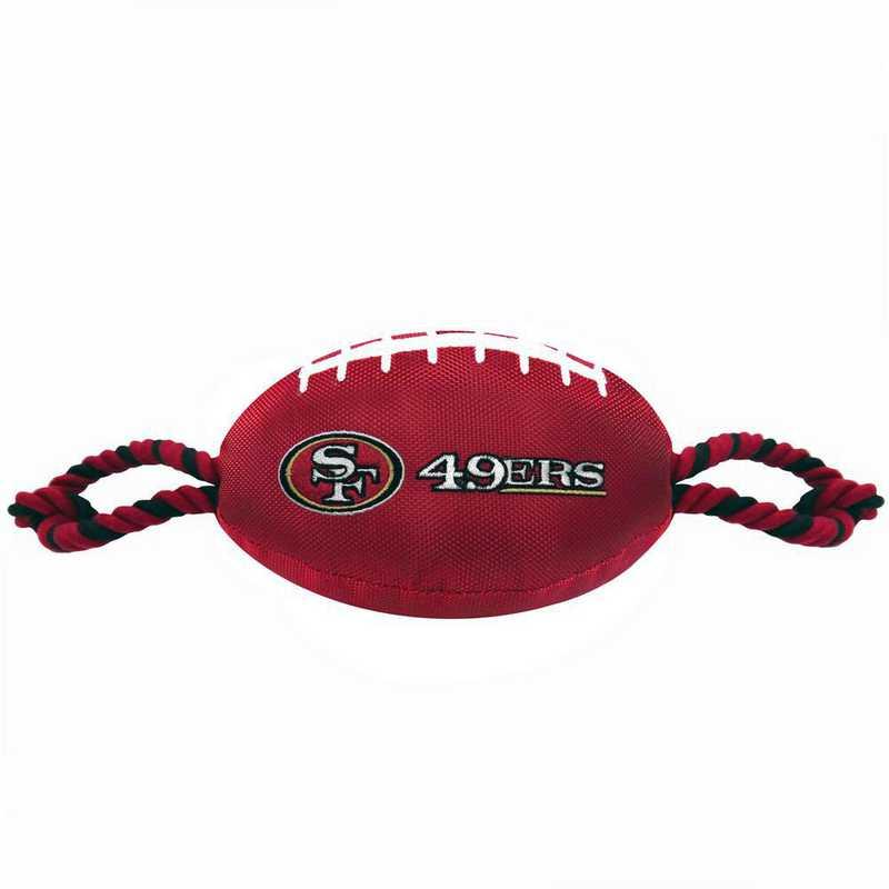 SAN-3121: SAN FRANCISCO 49ERS NYLON FOOTBALL