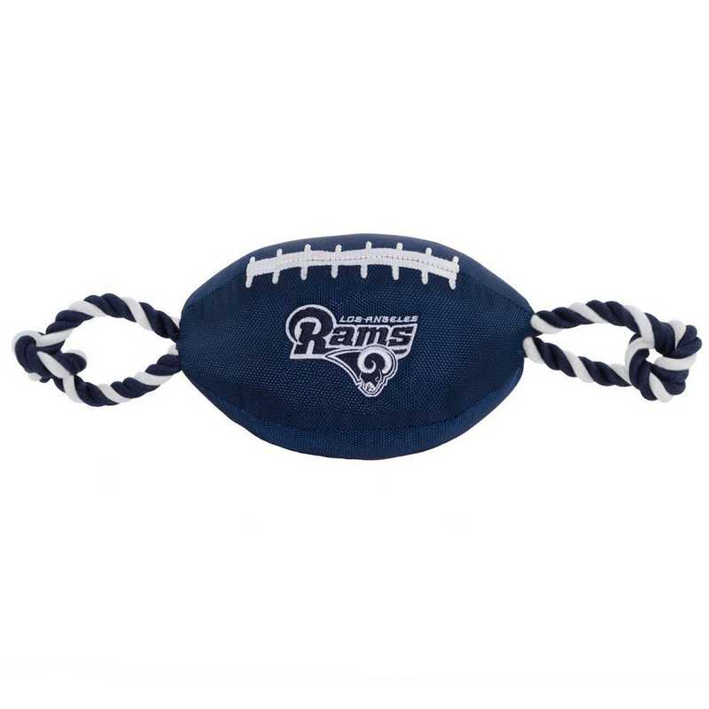 STL-3121: LOS ANGELES RAMS NYLON FOOTBALL