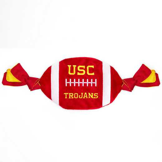 USC-3187: USC TROJANS FLATTY FOOTBALL TOY