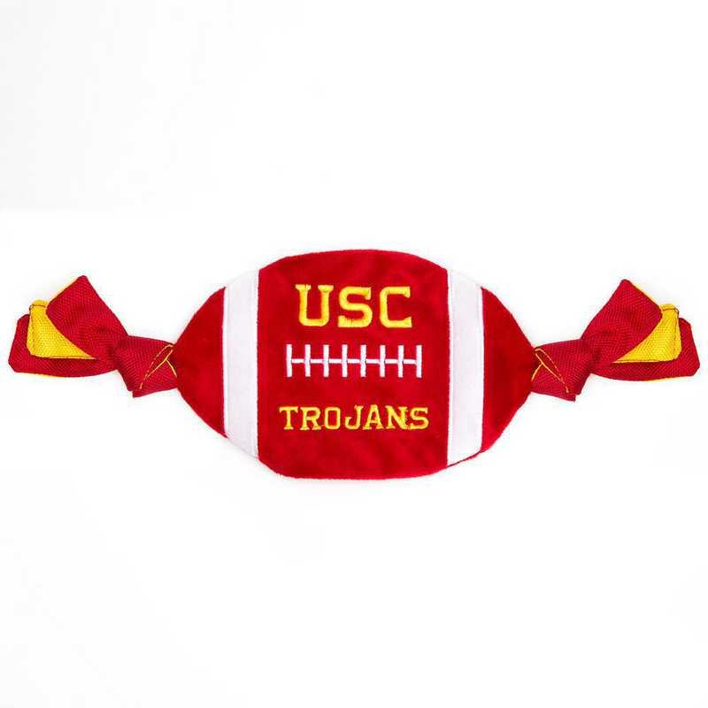 USC-3187: USC TROJANS FLATTY FOOTBALL TOY