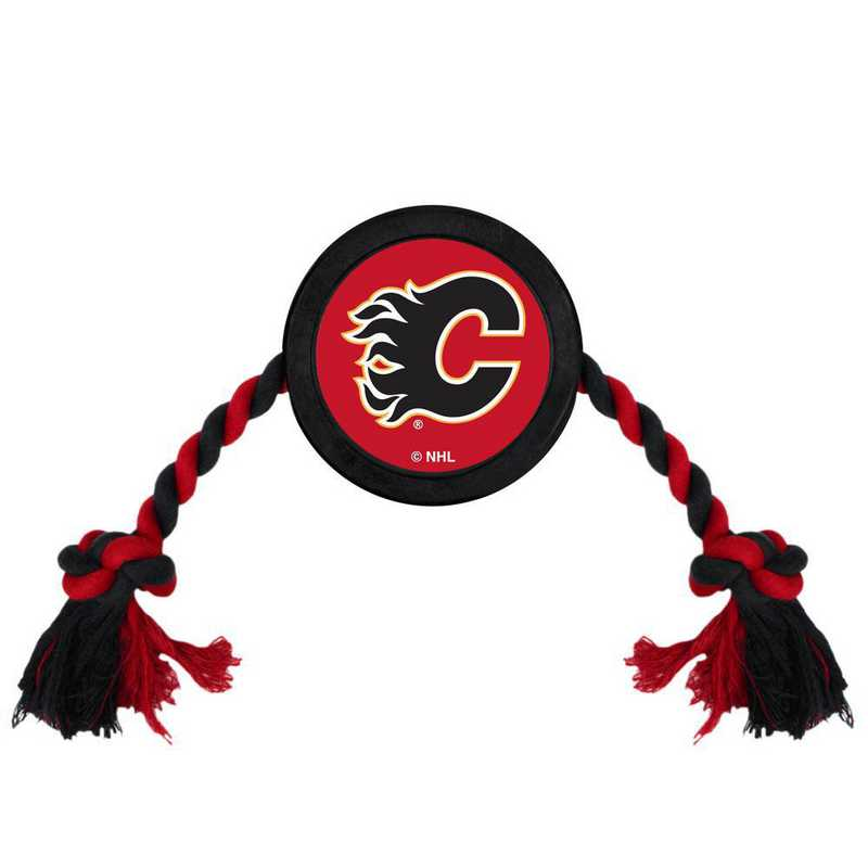 CGY-3233: CALGARY FLAMES HOCKEY PUCK TOY