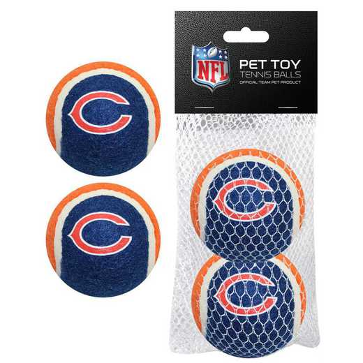 CHI-3189: CHICAGO BEARS 2PC TENNIS BALLS