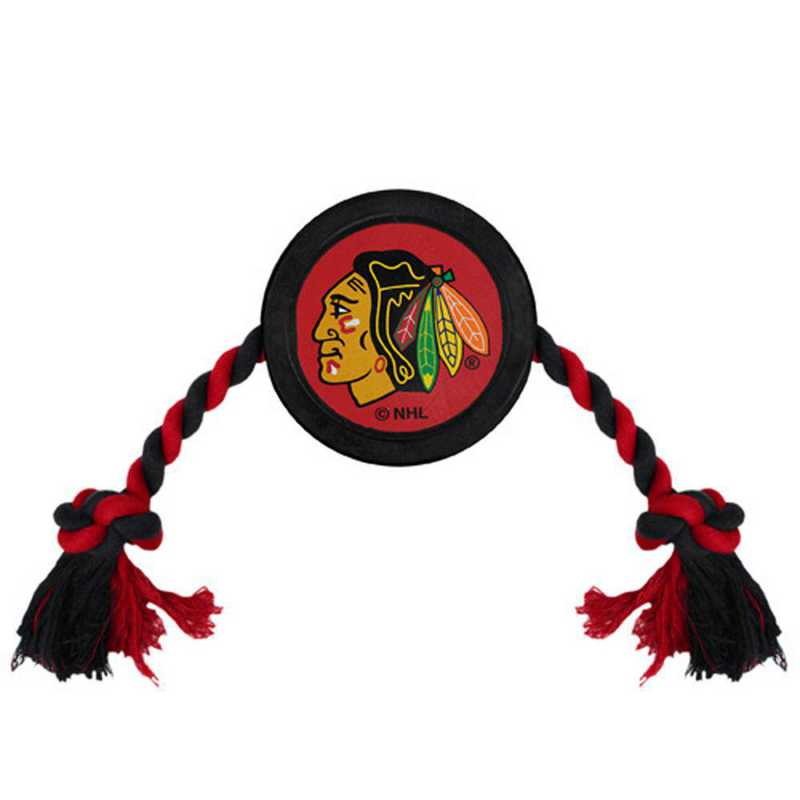 BHK-3233: CHICAGO BLACKHAWKS HOCKEY PUCK TOY