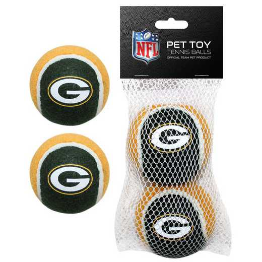 GBP-3189: GREEN BAY PACKERS 2PC TENNIS BALLS