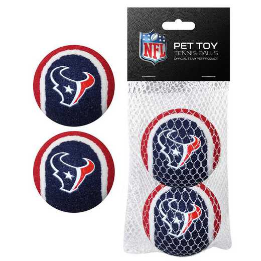 HOU-3189: HOUSTON TEXANS 2PC TENNIS BALLS