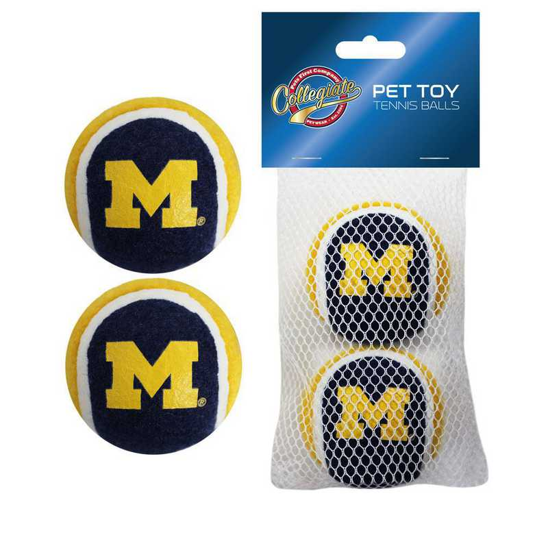 MI-3189: MICHIGAN 2PC TENNIS BALLS