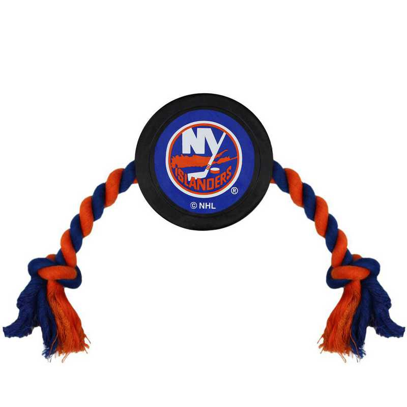 ISL-3233: NEW YORK ISLANDERS HOCKEY PUCK TOY