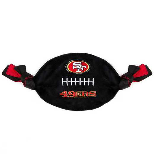 SAN-3187: SAN FRANCISCO 49ERS FLATTY FOOTBALL TOY