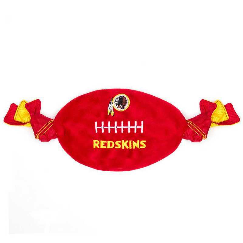 WAS-3187: WASHINGTON REDSKINS FLATTY FOOTBALL TOY