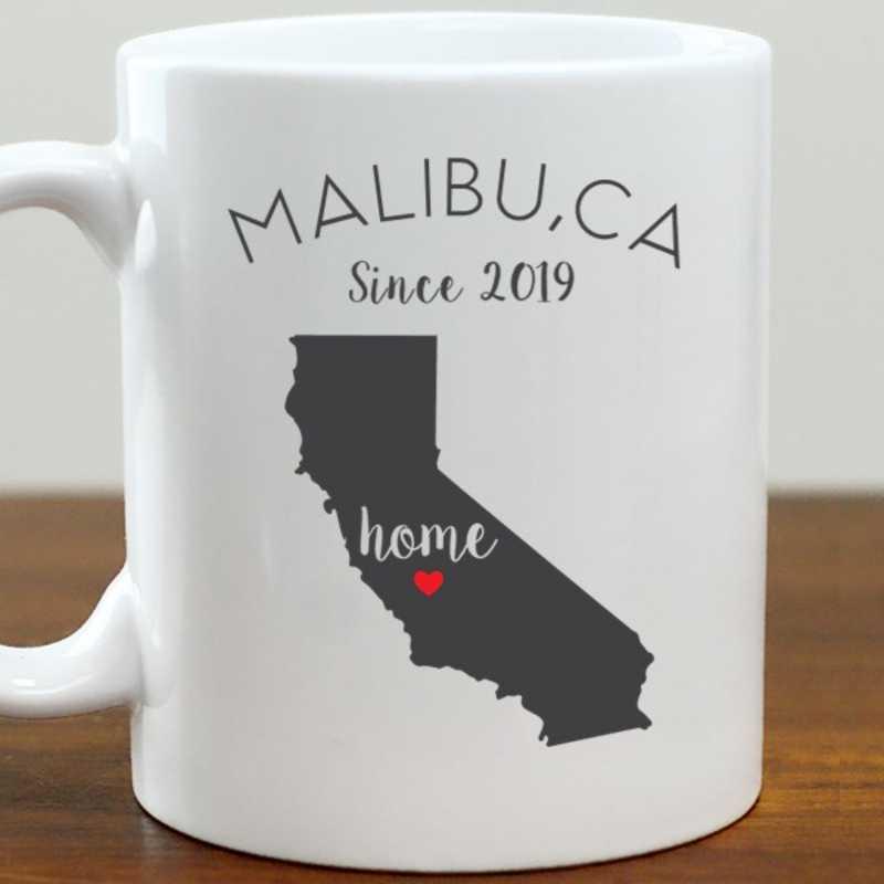 211062CA: Coffee Mug White 11oz CA