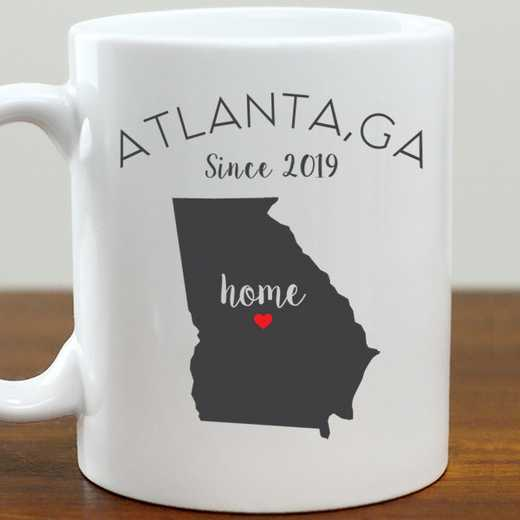 211062GA: Coffee Mug White 11oz GA