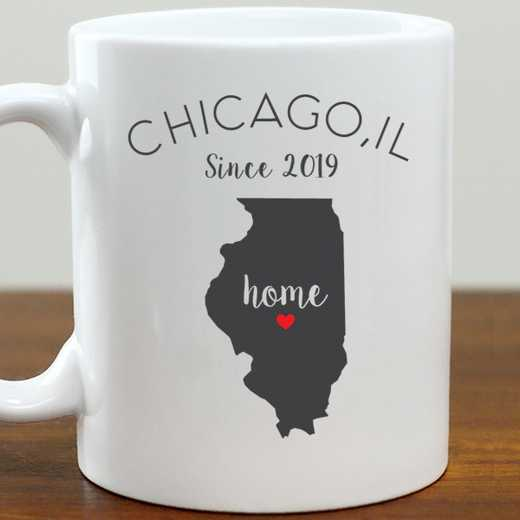 211062IL: Coffee Mug White 11oz IL