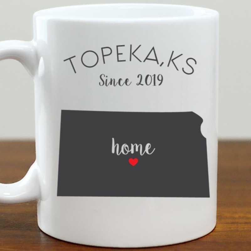211062KS: Coffee Mug White 11oz KS