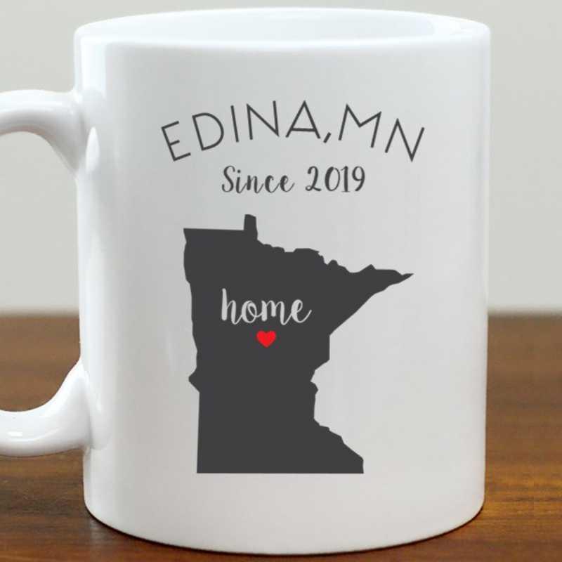 211062MN: Coffee Mug White 11oz MN