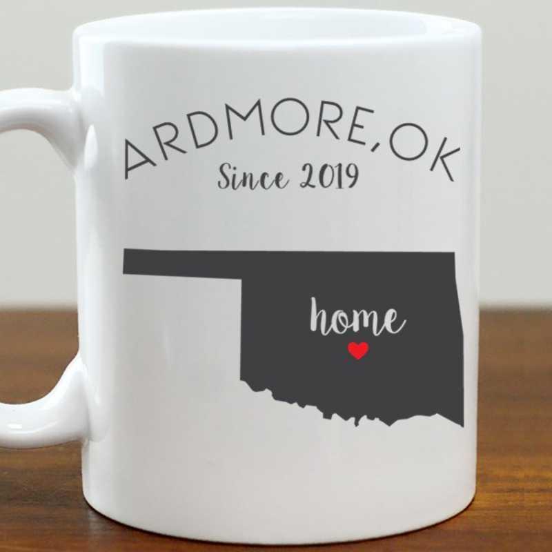 211062OK: Coffee Mug White 11oz OK