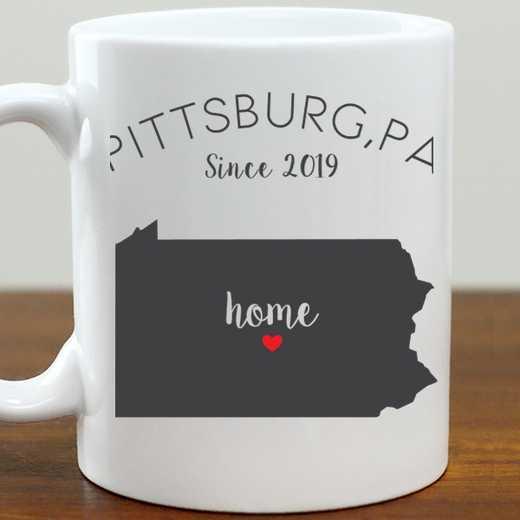 211062PA: Coffee Mug White 11oz PA