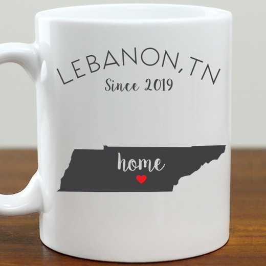 211062TN: Coffee Mug White 11oz TN