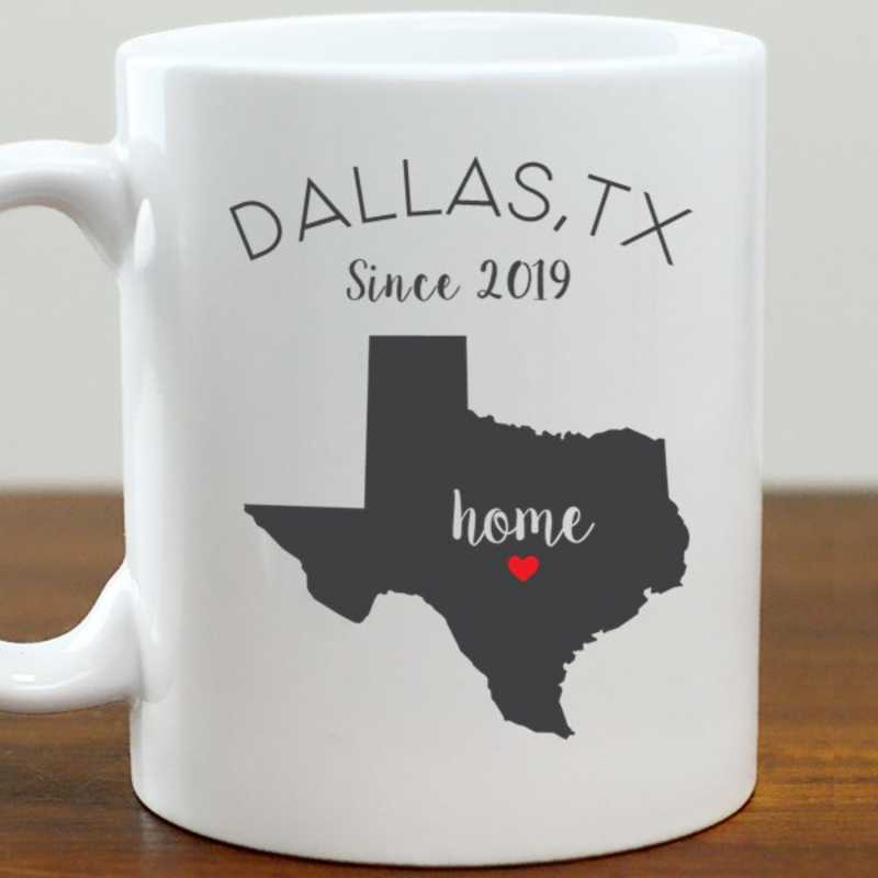 211062TX: Coffee Mug White 11oz TX
