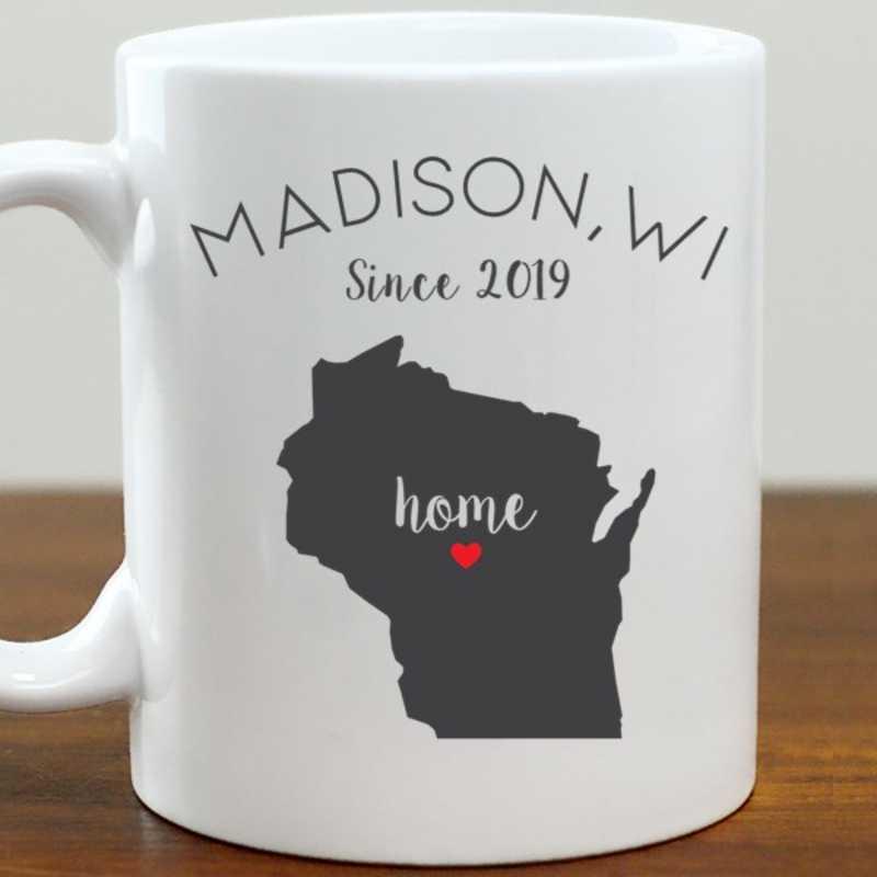211062WI: Coffee Mug White 11oz WI