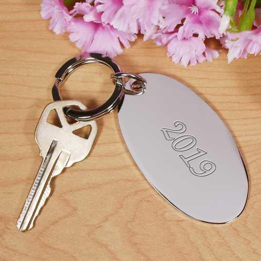 8531300script: PGS Name Silver Keychain - Script