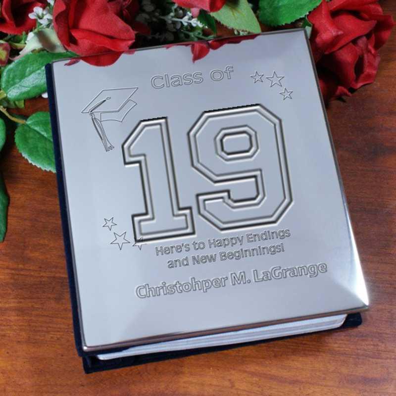 G11938: PGS GradNew Beginnings Graduation Silver Album
