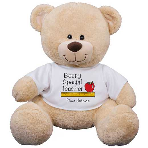 833019B13: PGS Beary Special Teacher Teddy Bear 11 inch bear