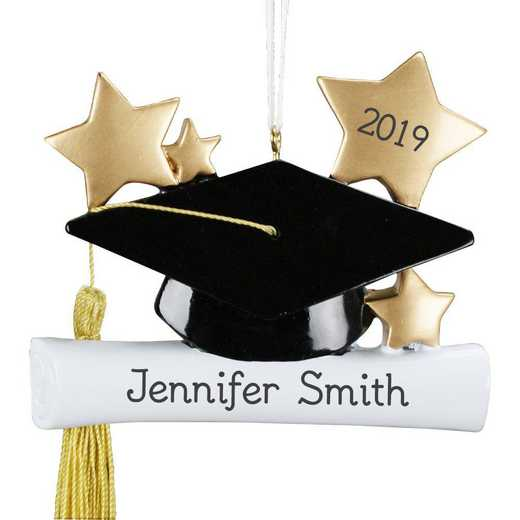 860713: PGS Personalzied Graduation Ornament