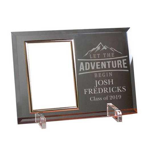 85126218GD: PGS Let the Adv Beveled FrameGold Trim, 4x6
