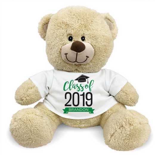 """8314006B13GN: PGS Bear Grad Banner 13"""" Green"""
