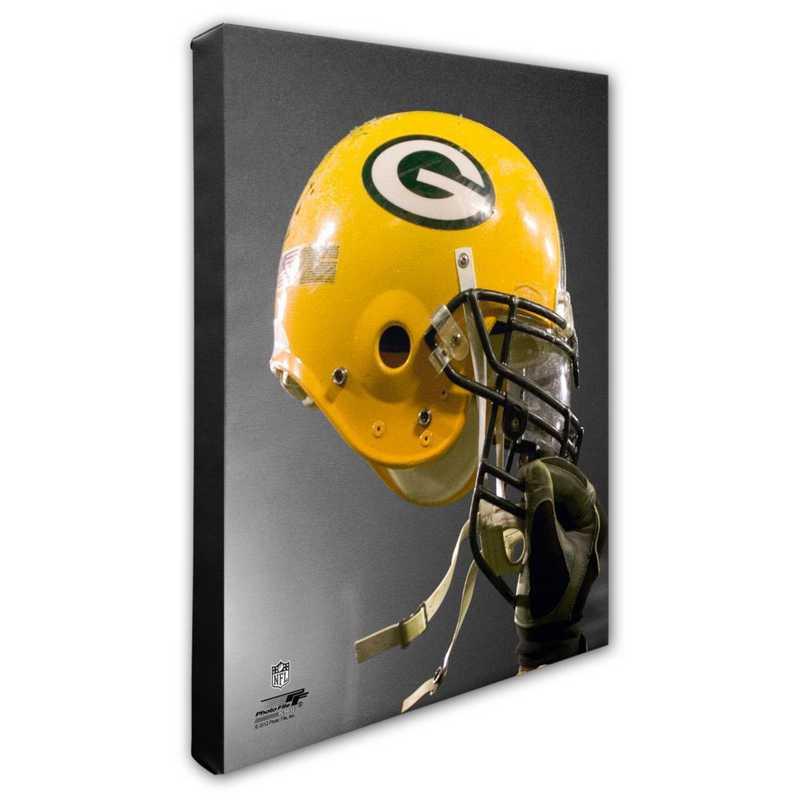 AAPC195-CS16x20: PF Green Bay Packers Helmet Photography- 16x20