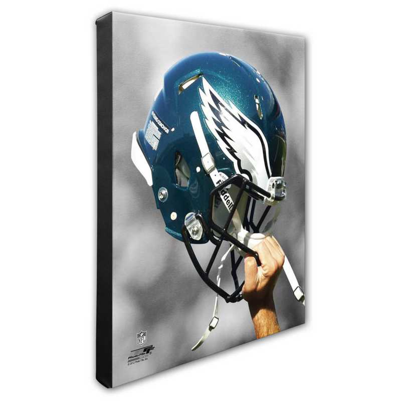 AAPD116-CS16x20: PF Philadelphia Eagles Helmet Photography- 16x20