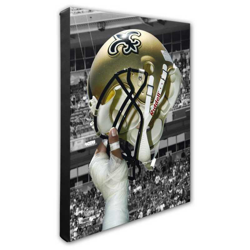 AAPD250-CS16x20: PF New Orleans Saints Helmet Photography- 16x20