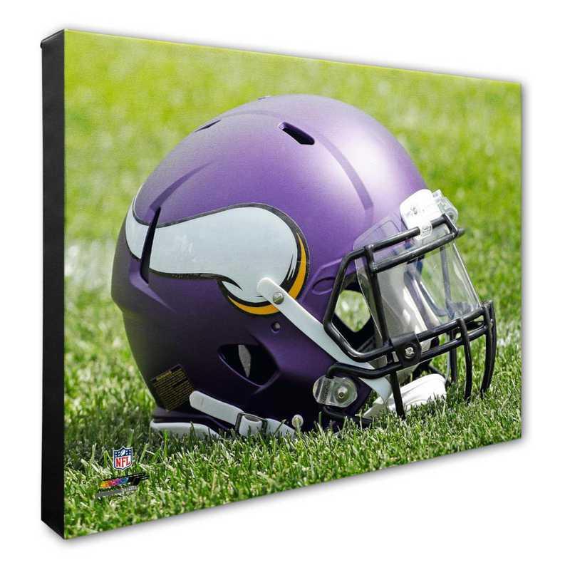 AAQB168-CS16x20: PF Minnesota Vikings Helmet Photography- 16x20