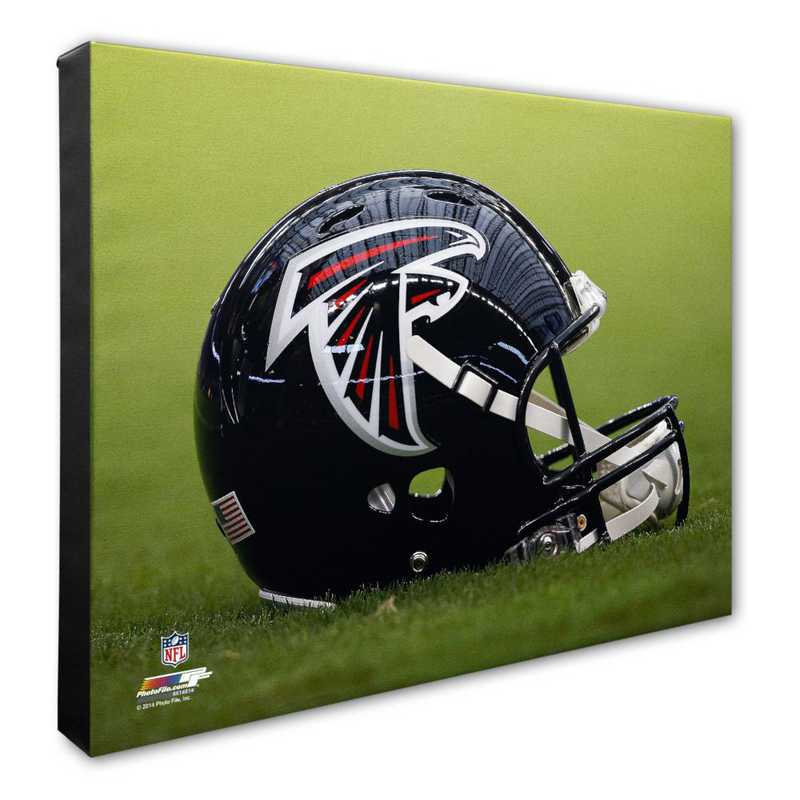 AARK148-CS16x20: PF Atlanta Falcons Team Helmet Photography- 16x20
