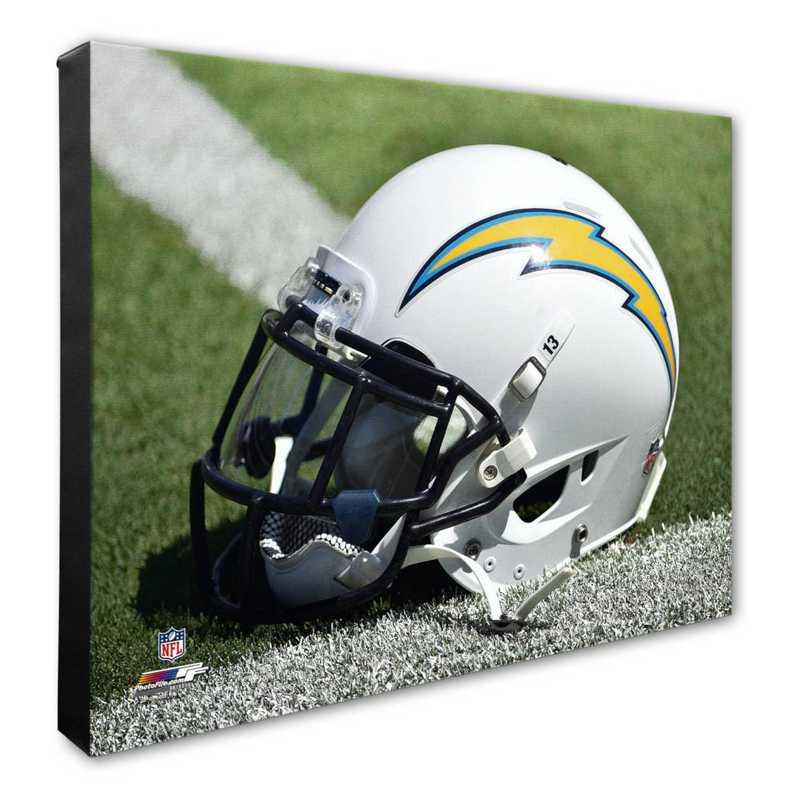 AARK153-CS16x20: PF San Diego Chargers Helmet Photography- 16x20