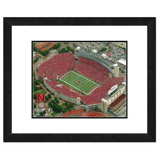 AAKQ126-FH20x24: PF Memorial Stadium Univ of Nebraska Cornhuskers- 22x26