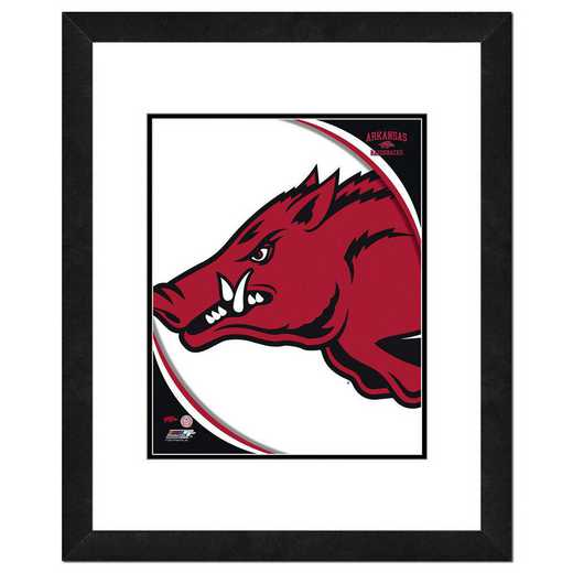 AAOK093-FH20x24: PF University of Arkansas Razorbacks Team Logo- 22x26